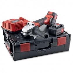 Akumulatora leņķa slīpmašīna FLEX LB 125 18.0-EC/5.0 Set