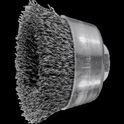 Metāla birstīte-kausiņš Ø60 mm PFERD TBU ST 0,3