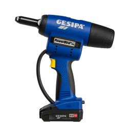 Akumulatora kniedētājs GESIPA PowerBird PRO CAS 1x2Ah/18V
