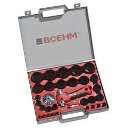 Caursitēju blīvēm komplekts 2–50 mm BOEHM JLB250PA
