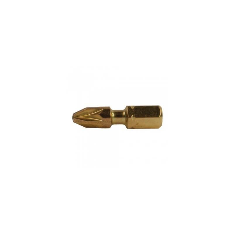 Torsion skrūvēšanas uzgaļi (2 gab.) PZ 2-25 mm MAKITA B-28450