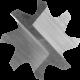 Cietmetāla frēze PFERD ZYA 0825/8 PLAST BS