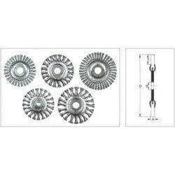 Metāla birstīte 115x10x22 mm OSBORN