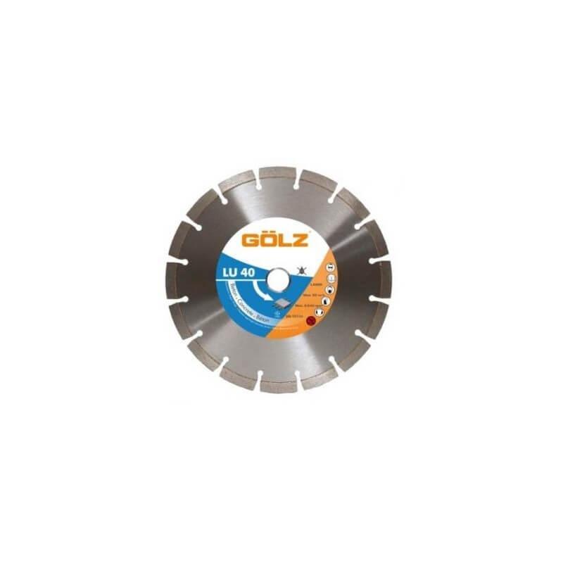 Dimanta disks betonam GOLZ LU40