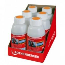 Radiatoru apkures sistēmas tīrīšanas līdzeklis ROTHENBEGER RoClean (6 pudeles pa 1l)