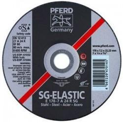 Metāla slīpēšanas disks Ø125x7x22 mm E125-7A24R SG PFERD