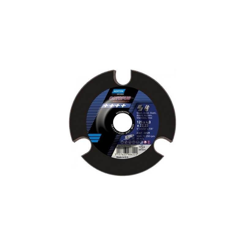 Slīpēšanas disks SAINT-GOBAIN OCTOPUS 125x4x22 A36T