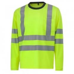 Krekls ar garām piedurknēm HELLY HANSEN Kenilworth, dzeltens
