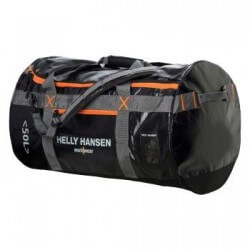 Ceļojumu soma/mugursoma HELLY HANSEN Duffel 50 l, melna/oranža
