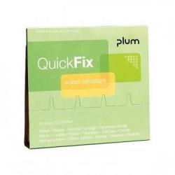 Ūdens izturīgi plāksteri PLUM QuickFix 45 gab.